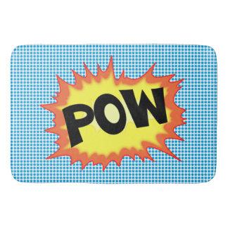 Superhero Pow! Explosion Bathmat