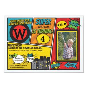 superhero invitations zazzle