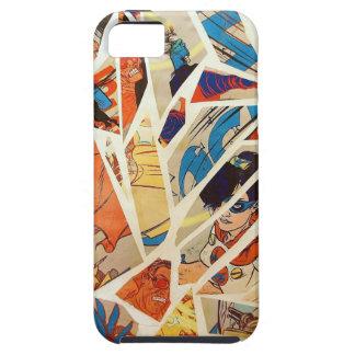 Superhero Shattering iPhone SE/5/5s Case