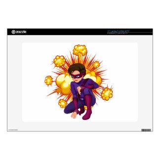 "Superhero Skin For 15"" Laptop"