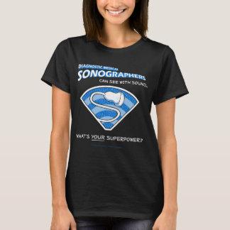 Superhero Sonographer Tee