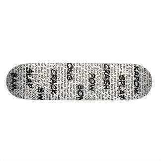Superhero speak skateboard,... skateboard