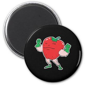 superhero strawberry cartoon character refrigerator magnets