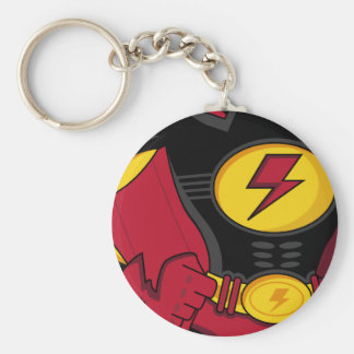 Superhero Suit Keychain
