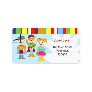 Super Superhero Shipping, Address, & Return Address Labels   Zazzle TA19