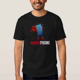 Superhero Super Phone Cartoon T-shirt