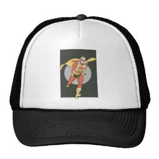 Superhero with Blast Symbol running Trucker Hat
