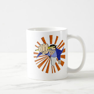 Superhero with Pencil Mugs