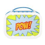 Superhero Word Splats Lunchbox