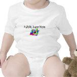 Superhéroe autístico trajes de bebé