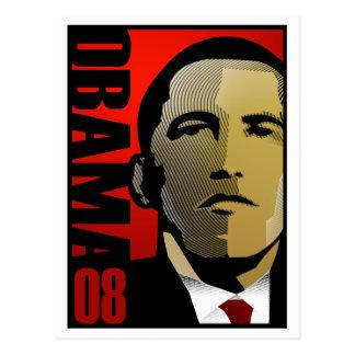 Superhéroe de Barack Obama Postal