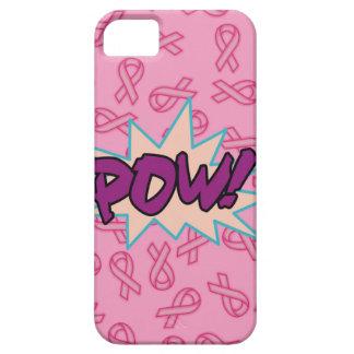 Superhéroe del cáncer de pecho iPhone 5 fundas