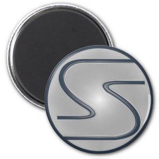 Superhéroe del logotipo de S Iman De Nevera