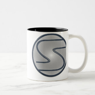 Superhéroe del logotipo de S Taza De Café