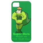 Superhéroe iPhone 5 Case-Mate Cárcasa