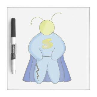 Superhéroe Pizarra