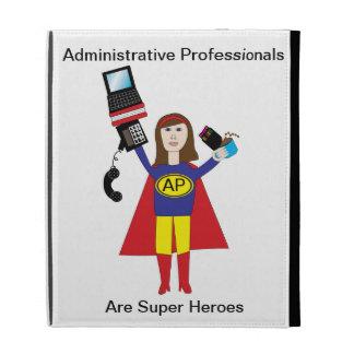 Superhéroe profesional administrativo (Brunette)