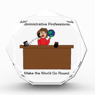 Superhéroe profesional administrativo Brunette