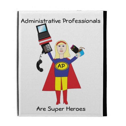 Superhéroe profesional administrativo (rubio)