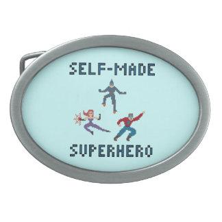 Superheroes Belt Buckle