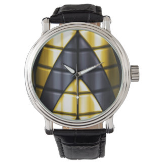 Superheroes - Black and Yellow Watch