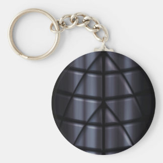 Superheroes - Black Keychain