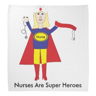 Superhéroes de las enfermeras (rubios) bandanas