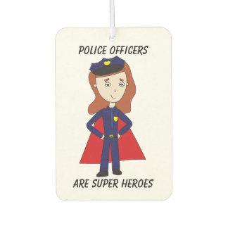 Superhéroes de los oficiales de policía (de sexo