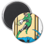 Superheroes In Action 2 Inch Round Magnet