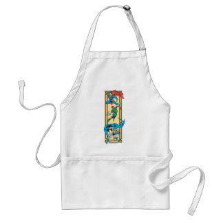 Superheroes In Action Adult Apron