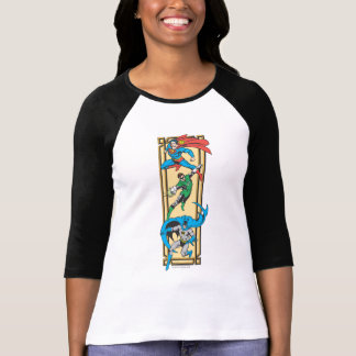 Superheroes In Action T-shirts
