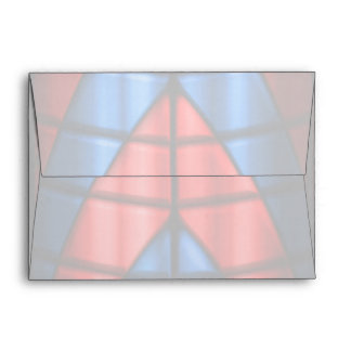 Superheroes - Red and Blue Envelope
