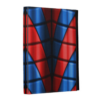 Superheroes - Red and Blue iPad Folio Cover