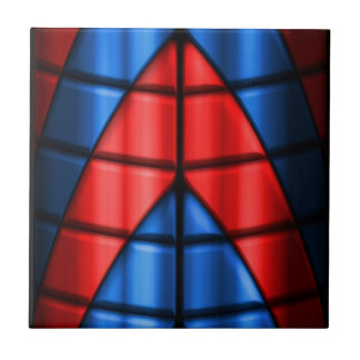 Superheroes - Red and Blue Tile