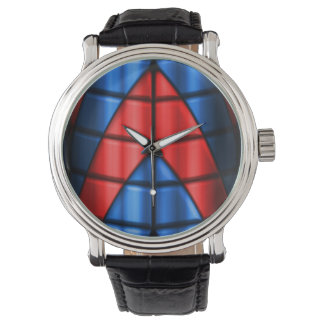 Superheroes - Red and Blue Watch