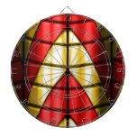 Superheroes - Red and Gold Dart Boards