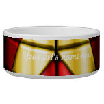 Superheroes - Red and Gold Dog Water Bowl