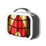Superheroes - Red and Gold Lunchboxes