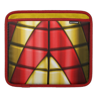 Superheroes - Red and Gold Sleeve For iPads