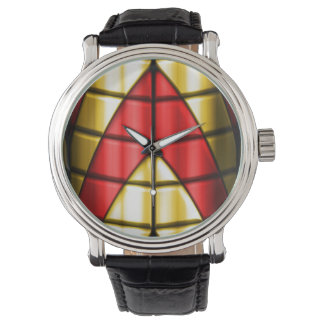 Superheroes - Red and Gold Wrist Watch