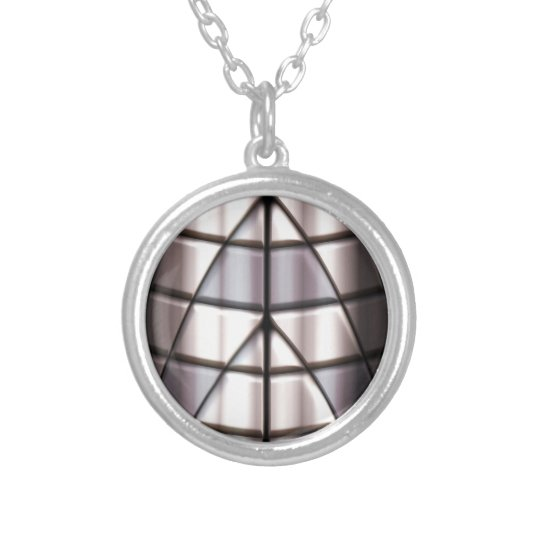 Superheroes - Silver Silver Plated Necklace
