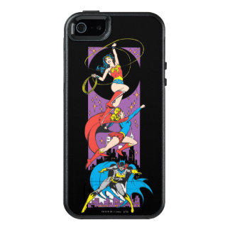 Superheroines In Action OtterBox iPhone 5/5s/SE Case