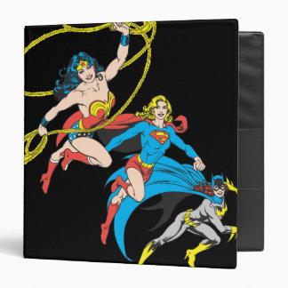 Superheroines Leap Binder