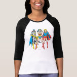 Superheroines Pose T-Shirt