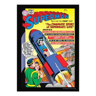 Superhombre #146 invitación