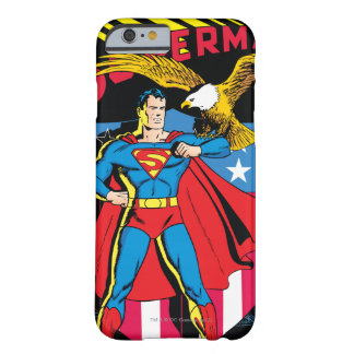 Superhombre #14 funda para iPhone 6 barely there