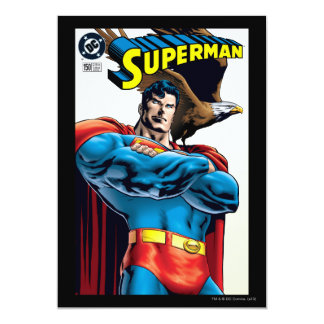 """Superhombre #150 noviembre del 99 invitación 5"""" x 7"""""""