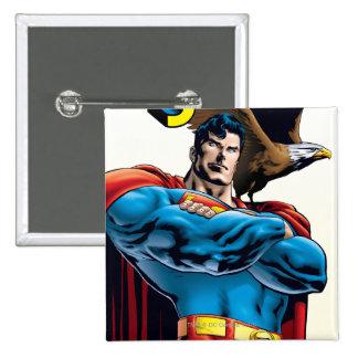 Superhombre #150 noviembre del 99 pin cuadrada 5 cm
