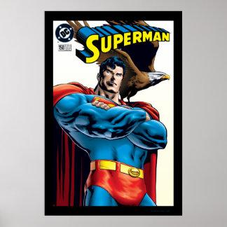 Superhombre #150 noviembre del 99 póster