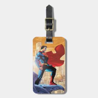 Superhombre #204 4 de junio etiquetas de equipaje
